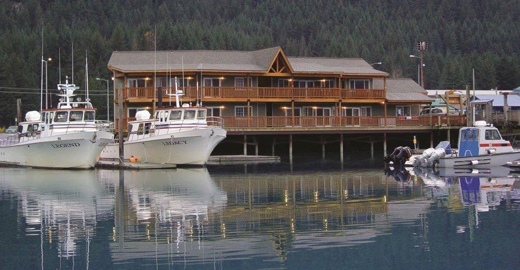 Seward alaska fishing lodge charters halibut fishing for Fishing lodge for sale
